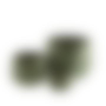 Large Green Leaf Plant Pot