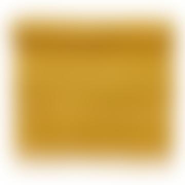 Tapis de Salle de Bain Chiné Curry 90x60cm