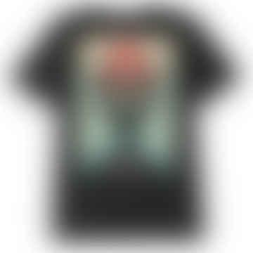 Lotus Angel T-Shirt - Black