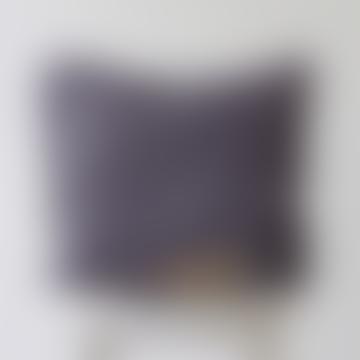 Pillowcase 100% Linen - Dark Grey, 80x80cm