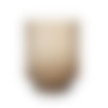 "Glasvase ""Laura"", H23 x 18 cm - Braun"