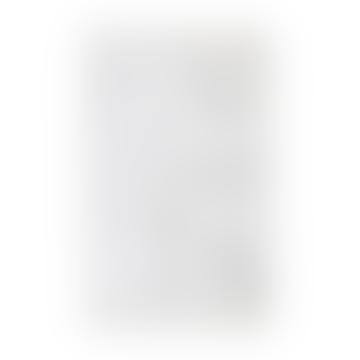 120 x 180 cm Tapis Berbere en coton blanc