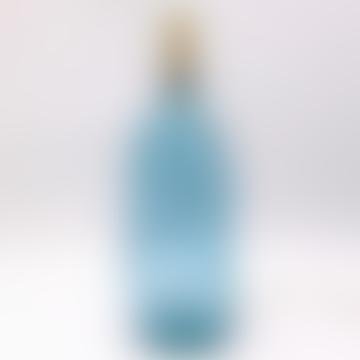 Simplicity Tall Lampensockel aus recyceltem Glas Hellblau