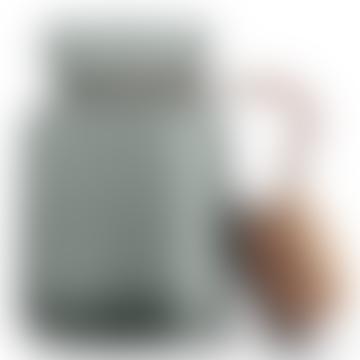 Silhouette Storage Jar