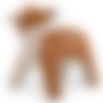 Deer Luke Bookend - Synthetic Leather