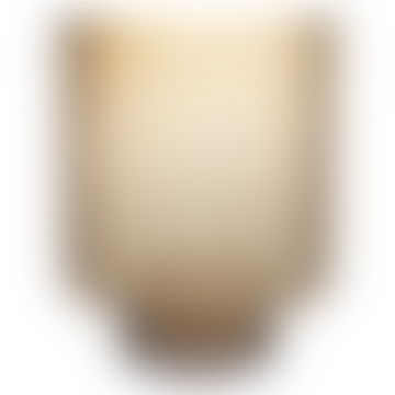 "Glass Vase ""Sofia"", H35 x 27.5cm - Brown"