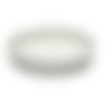 White Inku High Plate