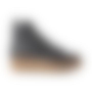 Botas De Montaña Con Cordones De Cuero Bex Negro
