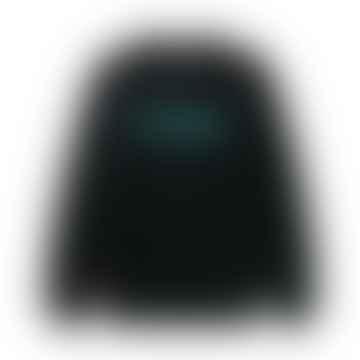 Chenille Logo Crewneck Black L