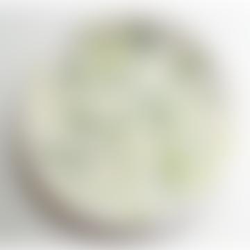 Mini Ceramic Plate - Green Dots