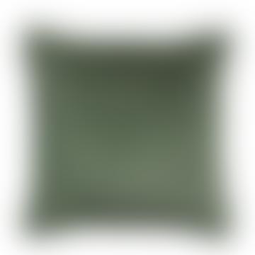 Fara Cushion In Thyme Green 45 X 45 cm