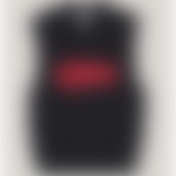 Gilet Tricot Coton Corde Noir