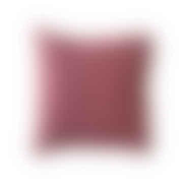 Cojín grande Sidney rosa / rojo