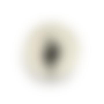 Feast by Ottolengthi Small Earthenware Black Artichoke Plate