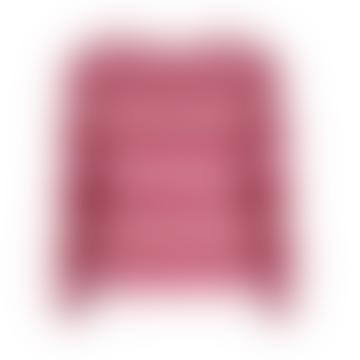 Jersey de punto cepillado Toni Rosa Caramelo