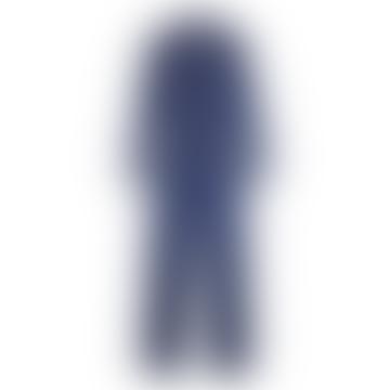 Danny Boilersuit Long Sleeve Indigo