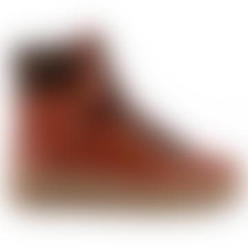 Bota de senderismo Agda rojo marrón