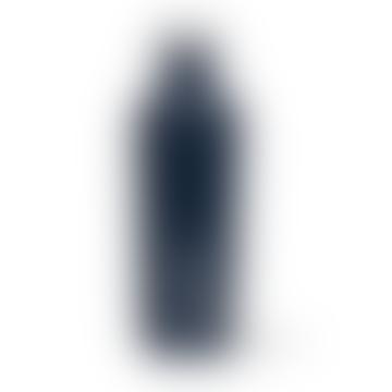 16 Unzen glänzende Navy Kantinenflasche