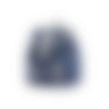 8.5l Navy Blue Water-Resistant Backpack