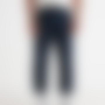 Kurt Trousers Cotton Twill Navy