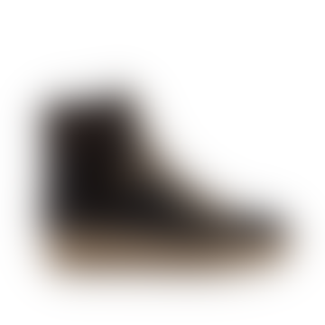 Agda Grey Leopard Boot