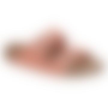 Arizona Soft Footbed Coral Peach Sandals