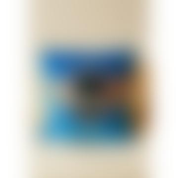 Bee Powder Blue Cushion