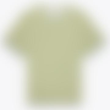 Dean Grey Green Yellow Linton Strip T Shirt