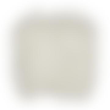 White Longhaired Icelandic Sheepskin Seatpad