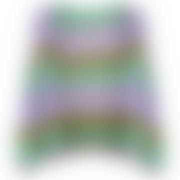 Filuca Stripe Knit Cardigan