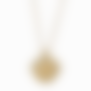 18k Gold Plated Zodiac Libra Necklace