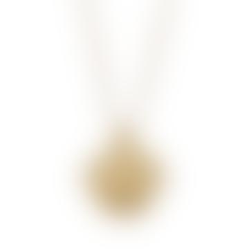 18k Gold Plated Zodiac Leo Necklace