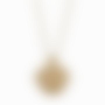 18k Gold Plated Zodiac Capricorn Necklace