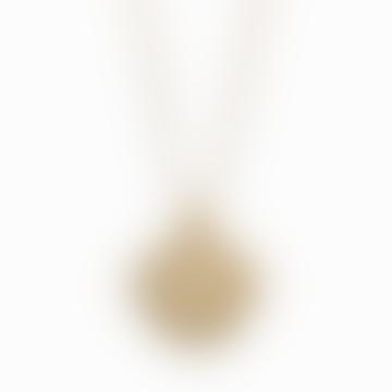 18k Gold Plated Zodiac Cancer Necklace