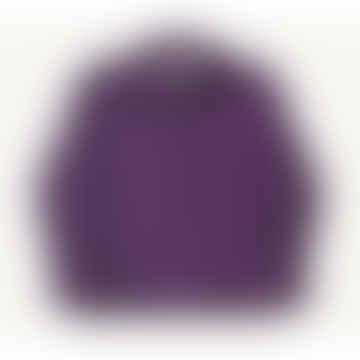 Girth Cord Shirt Purple