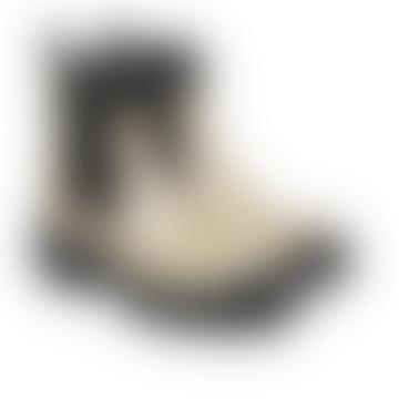 Boot Beige / Black Chunky