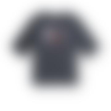 42101 tasse n embrasse t-shirt Inde encre gris