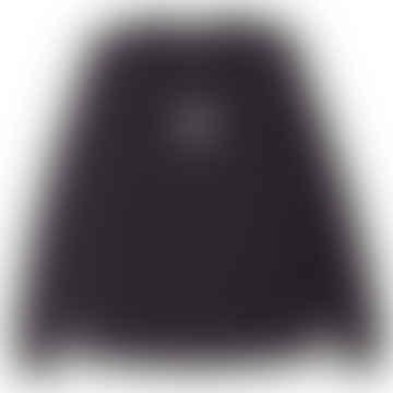 Eyes Icon 3 LS T-Shirt - Off Black