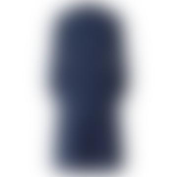 Karlo Schnurkleid in dunkelblauem