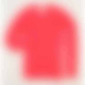 Sarah Cashmere Sweater Corail Fluo