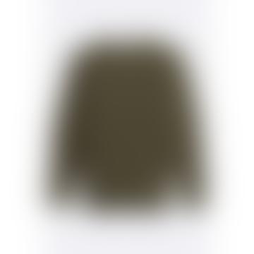 Copy Of Hamish Ribbed Knit Dark Olive