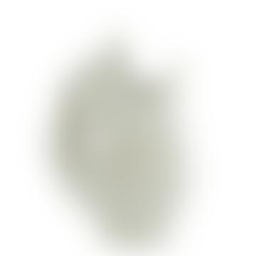 Vase Poisson blanc cassé