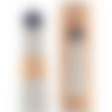 Skittle Bottle Jumbo 250ml - White and Indigo