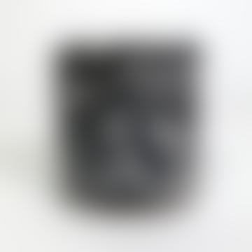Terrazzo Pot In Black