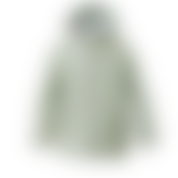 Elephant Man Unisex Waterproof Raincoat In Laurel Green