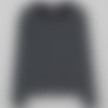Luxe Long Sleeved Top Black