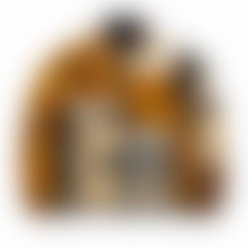 Patchwork Reversible Jacket Zip Through Fleece