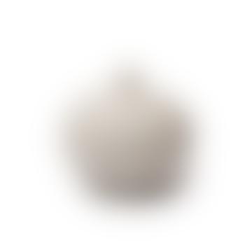 Jarrón de bari mediano en gris