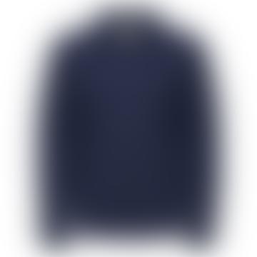 Wool Workwear Jacket Navy Blazer