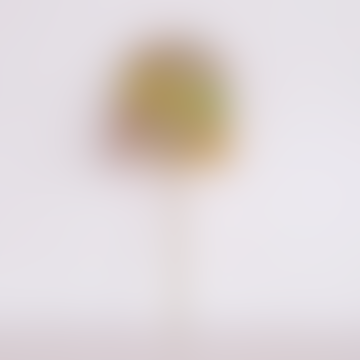 Pine Tree Design Marugame Fan